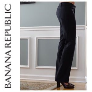 Banana Republic Black Dress Pants Martin Fit B